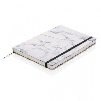 Agenda A5 Marble Deluxe, White