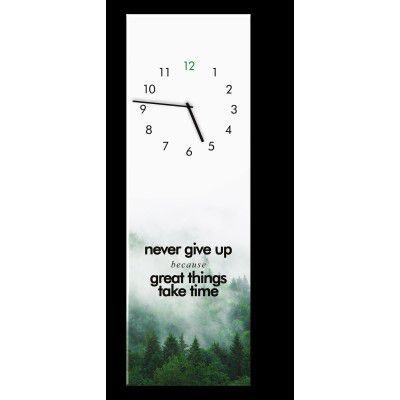 Ceas de perete Great Things GC009, 20 x 60 cm
