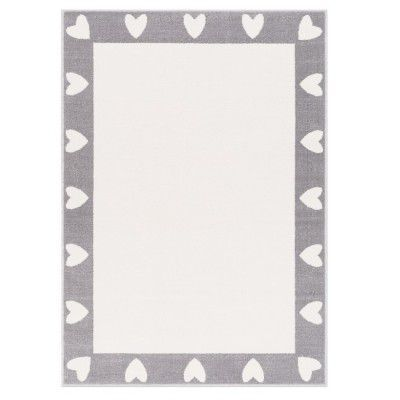 "Covor din PP ""Heart"" Grey, Wilton"