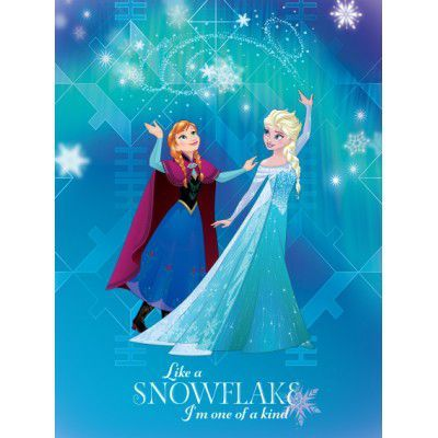 Covor Disney Kids Frozen Elsa & Anna 7, Imprimat Digital