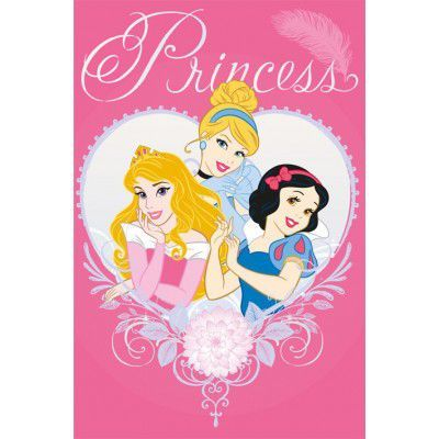 Covor Disney Kids Princess Diamond 51995, Imprimat Digital