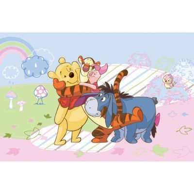 Covor Disney Kids Winnie Rainbow 51171, Imprimat Digital
