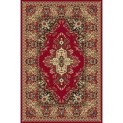 Covor living Fatima Dark Red, Wilton