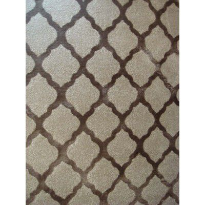 Covor Texture TEX-003F Beige / Brown, Tesut mecanic