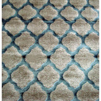 Covor Texture Tex-003H Grey / Turquoise, Tesut mecanic