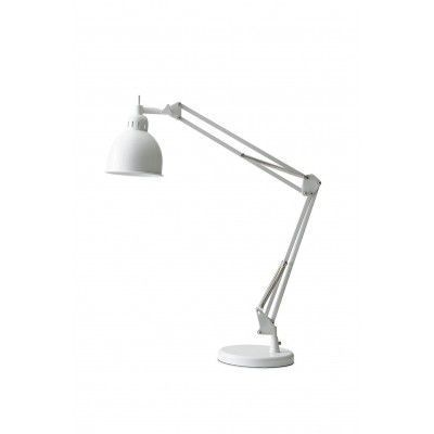 Lampa de birou Job White Matt
