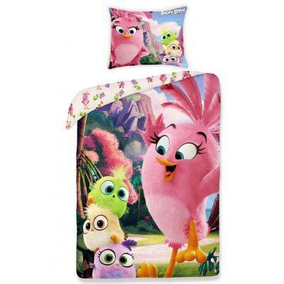 Lenjerie de pat copii Cotton Angry Birds 1155