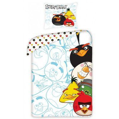 Lenjerie de pat copii Cotton Angry Birds 5002