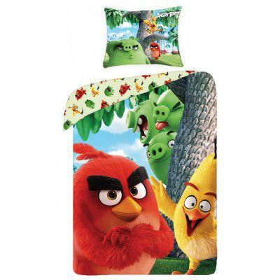 Lenjerie de pat copii Cotton Angry Birds ABM-1166