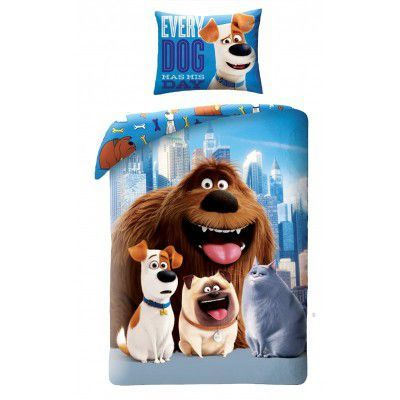 Lenjerie de pat copii Cotton Secret Life of Pets USP-012