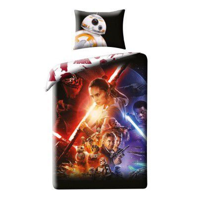 Lenjerie de pat copii Cotton Star Wars Star723BL