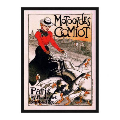 Poster Théophile Steinlen - Motocycles Comiot