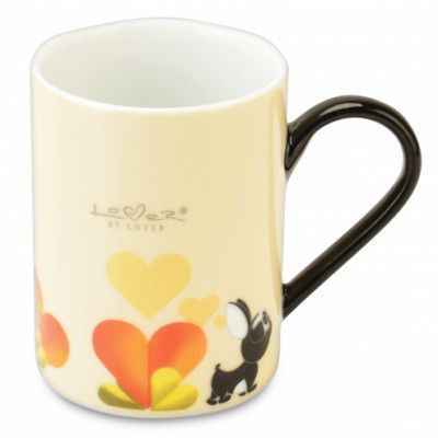 Set 2 cani coffe, Beige, 300 ml, Lover by Lover