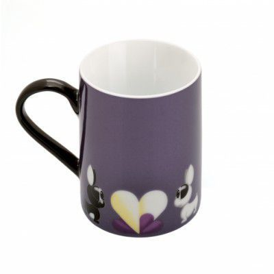 Set 2 cani coffe, Purple, 300 ml, Lover by Lover