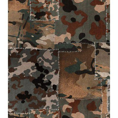 Set 3 role Tapet Imprimat Digital Camo Brown