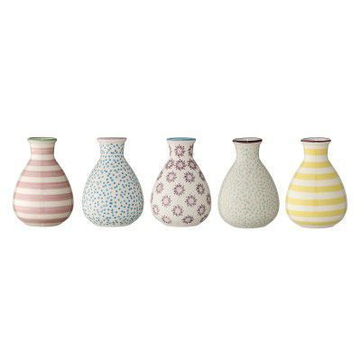 Set 5 vaze Patrizia Multi-color, Ceramica