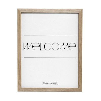"Tablou "" Welcome "" Nature, l35xH45 cm"