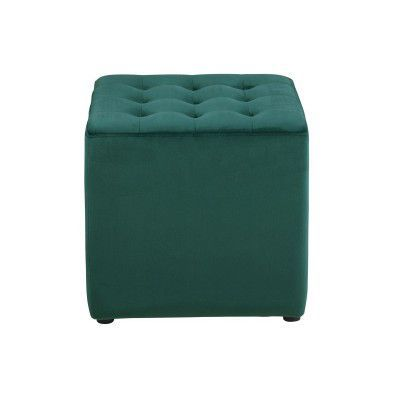 Taburet tapitat Bryan Dark Green