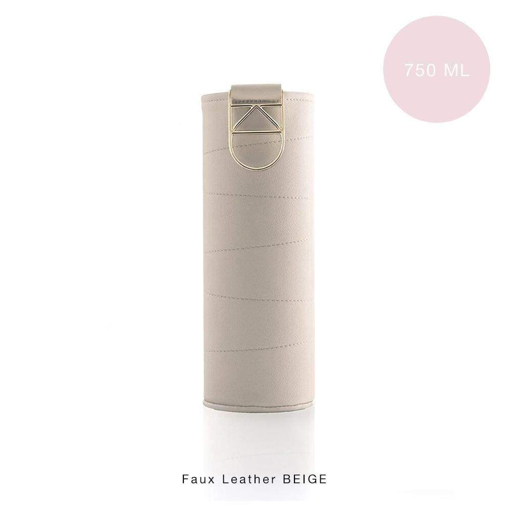 Extra Cover Beige pentru sticle Equa Mismatch, 750 ml